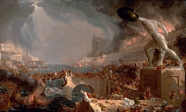 Cole's Destruction: The effect of vice and weakness on civilization