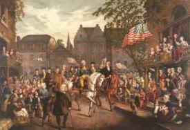 Washington's Trumphal Entry into New York