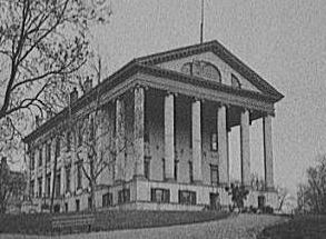 Virginia State Capitol,designed by Jefferson